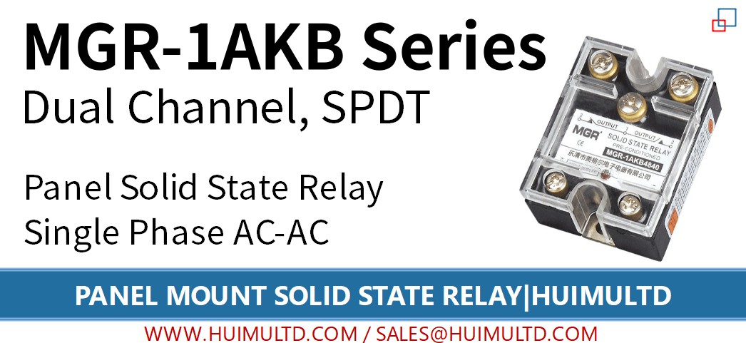 MGR-1AKB Series Panel Mount Solid State Relay