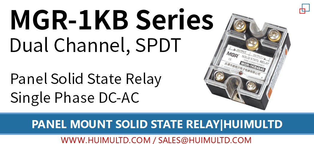 MGR-1KB Series Panel Mount Solid State Relay