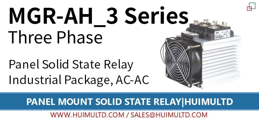 MGR-AH_3 系列 面板固态继电器