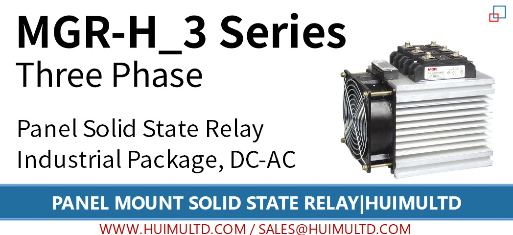 MGR-H_3 Series Panel Mount Solid State Relay