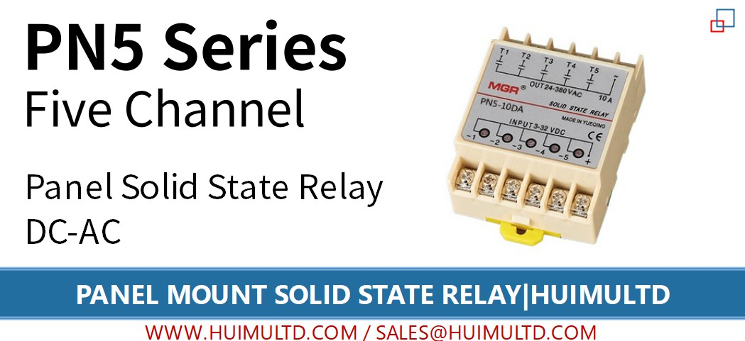 PN5 Series Panel Mount Solid State Relay