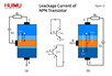 Leakage Current of NPN Transistor
